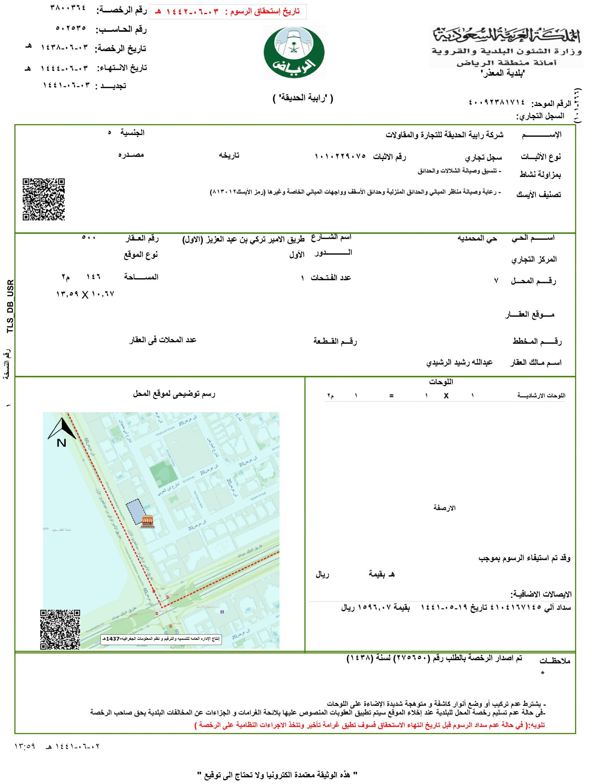 شهادة البلدية